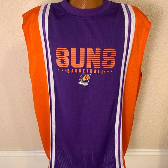 super popular 7d014 e0827 NBA. Vintage Phoenix Suns Basketball Jersey. Large